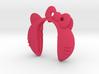 HELLO KITTY XL #55 key fob for Mini Copper F model 3d printed