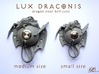 LUX DRACONIS - Dragon door bell 3d printed dragon door bell- size M and s