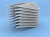 1/144 TIE Interceptor Wing Set of 8 3d printed