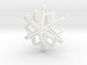 Snowflake No 1 3d printed