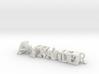 3dWordFlip: Alexander/Meindl 3d printed