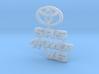RCN070 Emblems for Toyota 4Runner PL 3d printed