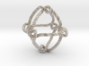 Octahedral knot (Rope with detail) 3d printed
