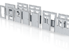 Door Range 4mm Scale 3d printed