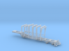 1/87th Pitts type 42' 6 bunk log trailer 3d printed