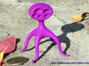 Star Map Kid 3d printed Star Map Kid, in Violet Purple Strong & Flexible