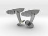Arrowhead Cufflinks 3d printed