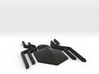 Homecoming Black Chest Spider Symbol for Costume 3d printed