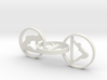 "Yoga jewelry earring 2"" approximately. Mixed poses 3d printed"