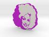 Dolly Parton in Violet 3d printed