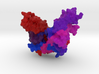 DNA Ligase from Bacteriophage T7 3d printed