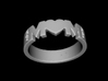 BlakOpal MOM Heart Band 3d printed