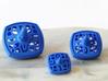 Hanukkah dreidel - Set of 3 nesting spinning tops  3d printed