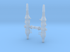 44 Scale TLJ A-Wing Upgrade Cannons 3d printed