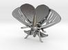Satin Moth Pendant 3d printed