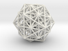 6D cube stellation-480 edges 3d printed