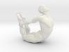 Male yoga pose 017 3d printed