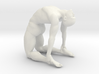 Male yoga pose 017 3d printed