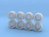 Miura SVR Hot Wheels Rims 3d printed