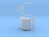 S Scale Aerial Tram Bucket Assembly 3d printed