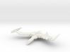 Romulan GreatBird Class  WarBird wings up 3d printed