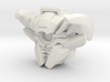 Nitro Zeus Face (Titans Return) 3d printed