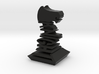 Modern Chess Set - KNIGHT 3d printed