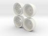 Marui Hunter/Galaxy Rear Wheel set 3d printed