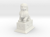1/24 Chinese Stone Lion Gate Keeper (R) 3d printed