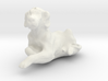 1/24 Relaxing Dog for Diorama 3d printed
