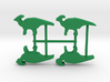 Dino Meeple, Parasaurolophus 4-set 3d printed