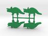 Dino Meeples, Triceratops 4-set 3d printed