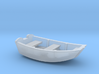 Dinghy Boat HO Scale 3d printed
