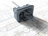 "1/72 4.7""/45 (12cm) QF Mark IX CPXVII Guns x4 3d printed 3d render showing product detail"