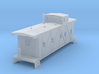 RI outside bracred caboose no roof walks 3d printed
