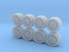 Mugen CF48 Hot Wheels CRX Rims 3d printed