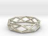 Unique Triangle Ring US 7 3d printed