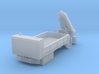 Rail Wheel Service Truck - Crane - Hyrail With Bum 3d printed