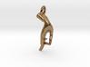 Karana Mudra V1 Pendant/ Charm 2.5cm 3d printed