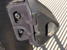 Gate Bracket 3d printed Printed part supporting magnetic latch.