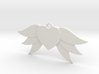 Heart With Wings 3d printed