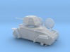 1/100th scale 39M Csaba hungarian armoured car 3d printed