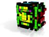 8-bit cutout (Frogger) 3d printed