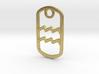 Aquarius Pendant  3d printed