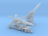 1/285 Scale UK Bloodhound Missile Luancher 3d printed