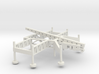 1/144 Scale Nike Missile Launch Pad 3d printed