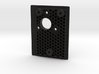 Thorens TD 165 Turntable Armboard - Sumiko Premier 3d printed Looks awesome in black! Honeycomb structure below.