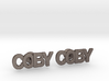 Custom Name Cufflinks - Coby 3d printed