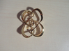 Symmetrical knot (Square) 3d printed
