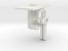 HO Double Steel Slat Post Mechanism - Short 3d printed